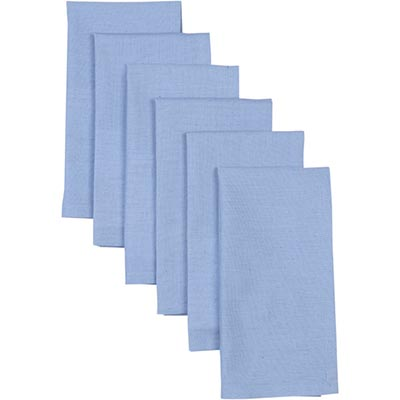 Sara Light Blue Napkins (Set of 6)