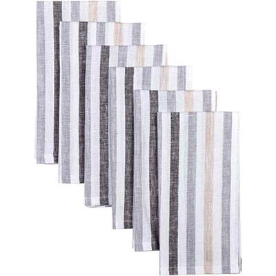 Blake Grey Napkins (Set of 6)