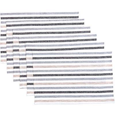 Blake Grey Placemats (Set of 6)