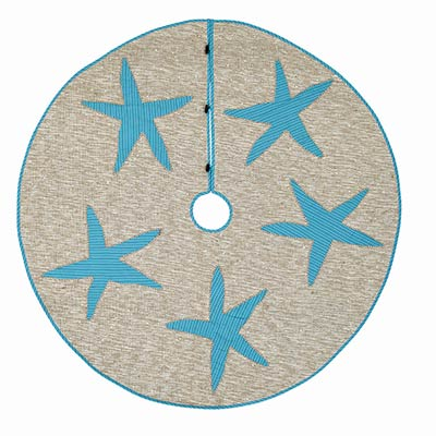 Nerine Christmas Tree Skirt - 55 inch