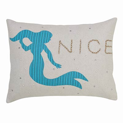 Nerine Mermaid Decorative Pillow