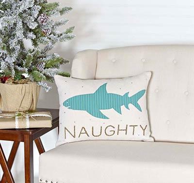 Nerine Shark Decorative Pillow