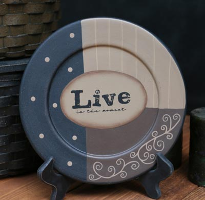 Live in the Moment Plate