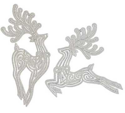Leaping Deer Ornament