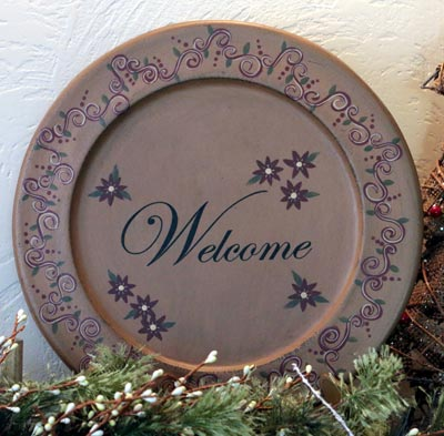 Welcome Plate