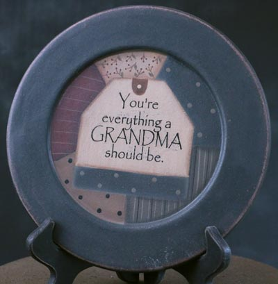 You're Everything Grandma Plate