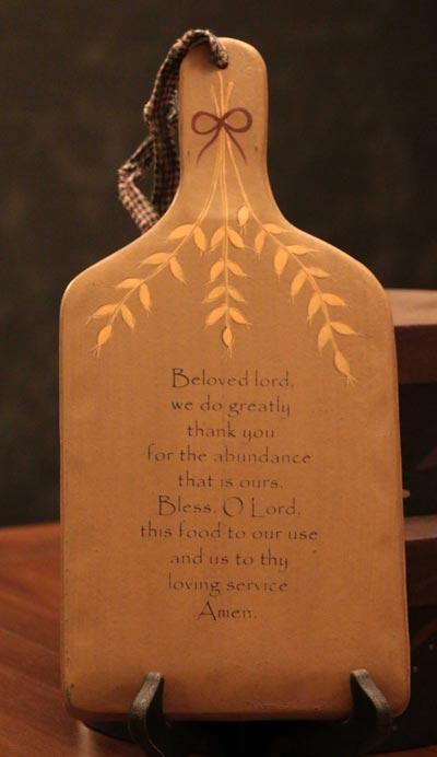 Beloved Lord Hanging Paddle