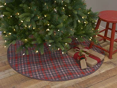 Anderson Plaid Christmas Tree Skirt - 48 inch