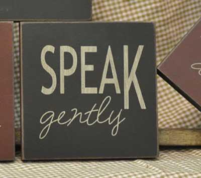Speak Sign (Choose color)