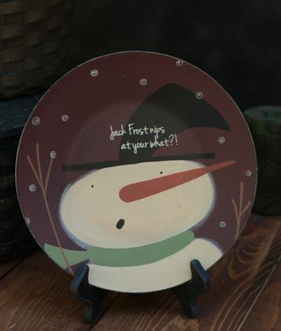 Jack Frost Nips Plate