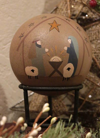 Nativity Decorative Ball