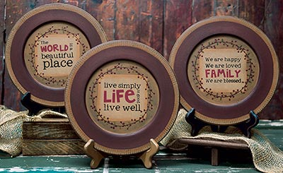 Live Well Plates (Set of 3)