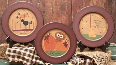 Fall Whimsy Plate