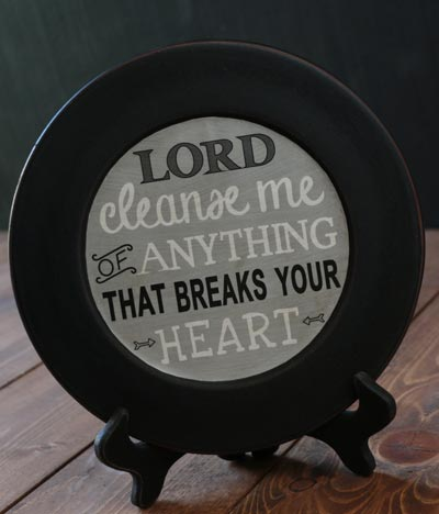 Cleanse Me Plate