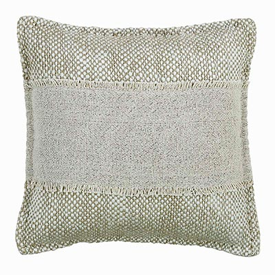 Neve Creme Decorative Pillow (16 inch)