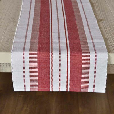 Samantha Red 72 inch Table Runner