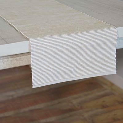Ashton Taupe 72 inch Table Runner