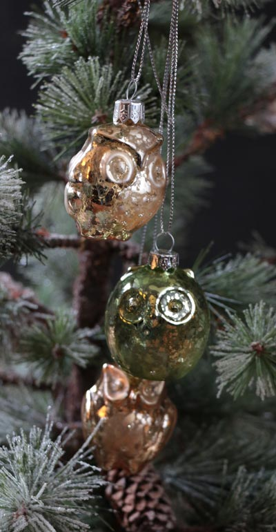 Owl Cluster Ornament