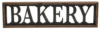 Bakery Framed Sign
