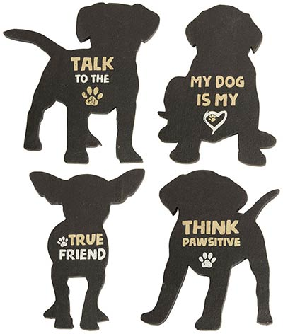 Dog Magnets (Set of 4)