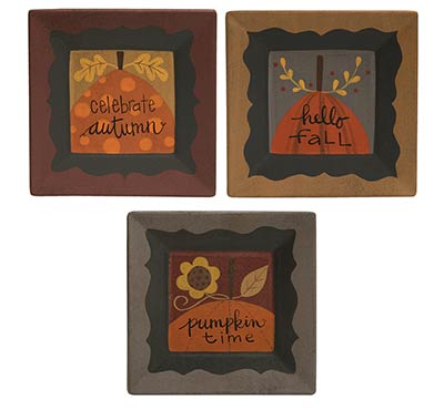 Fall Celebration Plate (Sold Separately)