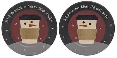 Merry Little Mocha Plate