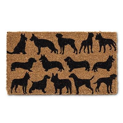 Dog Silhouette Doormat