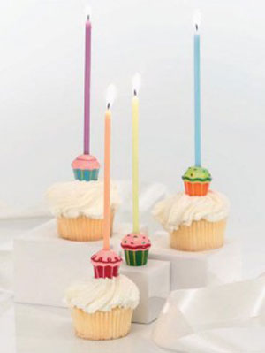 Mini Cupcake Taper Holder