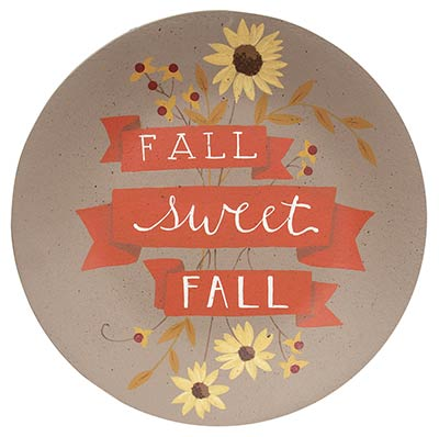 Fall Sweet Fall Wood Plate