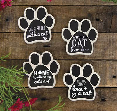 Cat Paw Magnets (Set of 4)