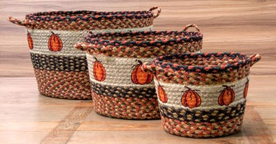 Harvest Pumpkin Utility Basket