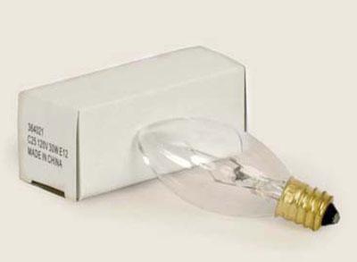 Torpedo Bulb, Short - 25 watt