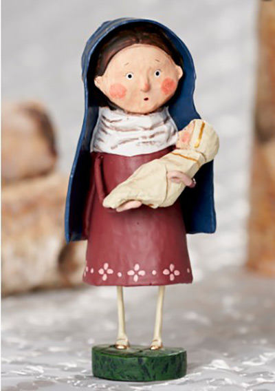 Mother Mary - Nativity Figurine