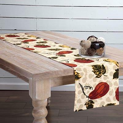 Harvest Garden 72 inch Table Runner