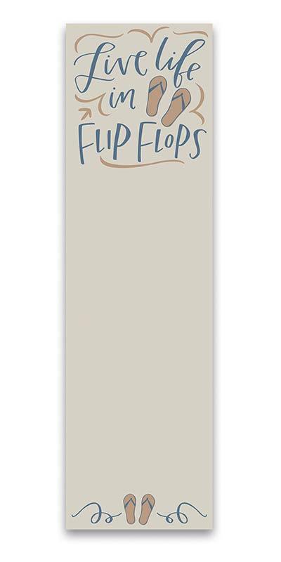 Flip Flops List Notepad