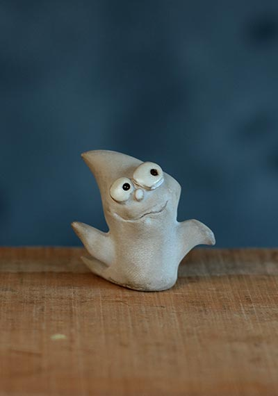 Halloween Miniature – Ghost
