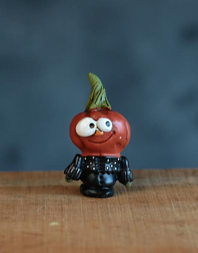 Halloween Miniature – Pumpkinman