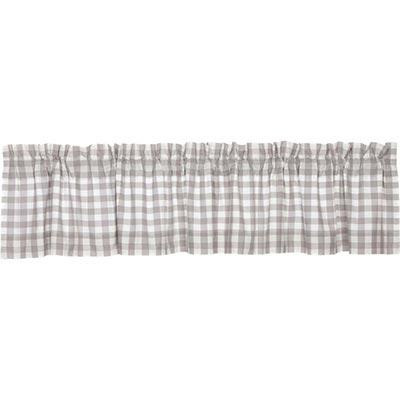 Annie Buffalo Grey Check Valance (90 inch)