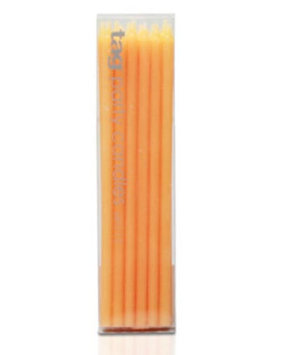 Party Candles - Orange
