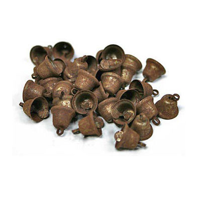 Rusty Tin Liberty Bells, 3/8 inch (Pack of 36)