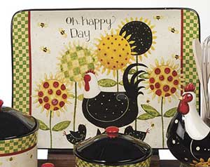 Oh Happy Day Rectangle Platter - Large