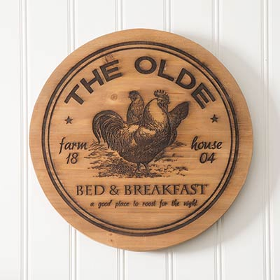 The Olde Lazy Susan with Chickens