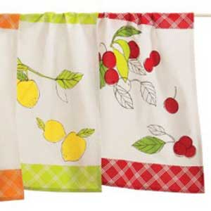 Cherry Tree Dishtowel