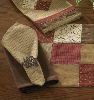 Grandma's Quilt Napkin