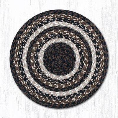 Mocha/Frappuccino Cotton Tweed Chair Pad
