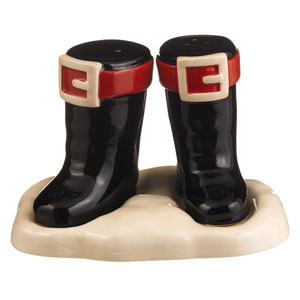 Boot Salt and Pepper Shaker Set