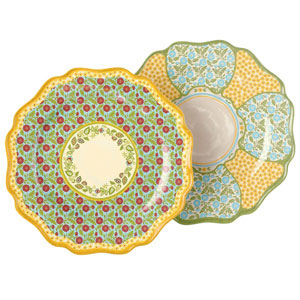 Outdoor Gatherings Melamine Dinner Plate