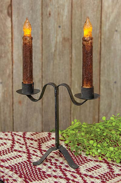 Double Taper Candle Holder