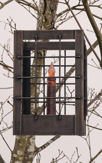 Post Lantern - Large