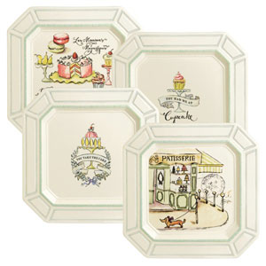 Patisserie Dessert Plate